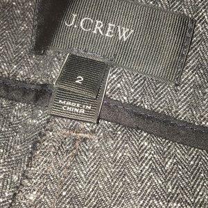 J. Crew Pants - J. Crew Stretch Herringbone Skinny Cargo Pant